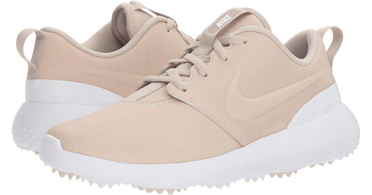 pretty nice e3d66 1ef70 Lyst - Nike Roshe G Prm in White - Save 20%