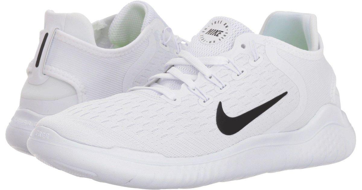 076b12f11b7b Lyst - Nike Free Rn 2018 (black metallic Gold vast Grey) Women s Running  Shoes in White