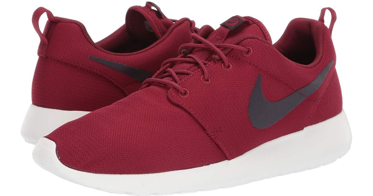 best sneakers ff646 a47df Nike Roshe One (light Taupe black sail) Men s Classic Shoes in Red for Men  - Lyst