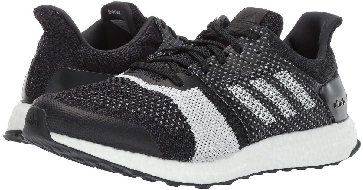 f61e415fa Lyst - adidas Originals Ultraboost St (black white carbon) Men s Running  Shoes in Black for Men