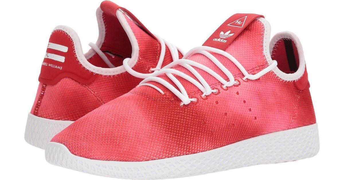 Lyst Adidas Originals Pharrell Williams Tennis Human Race Scarlet