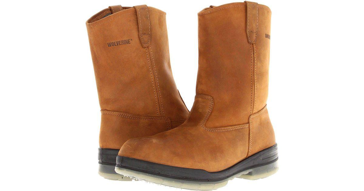 cdcab7cd027 Wolverine - Gray Durashocks(r) Insulated Waterproof Wellington (stone)  Men's Work Boots for Men - Lyst