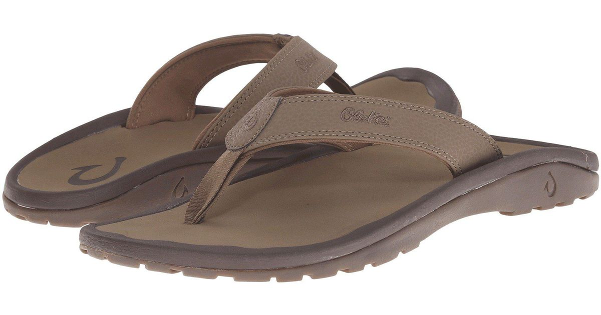 df491bac875 Lyst - Olukai Ohana (black dark Shadow) Men s Sandals in Brown for Men