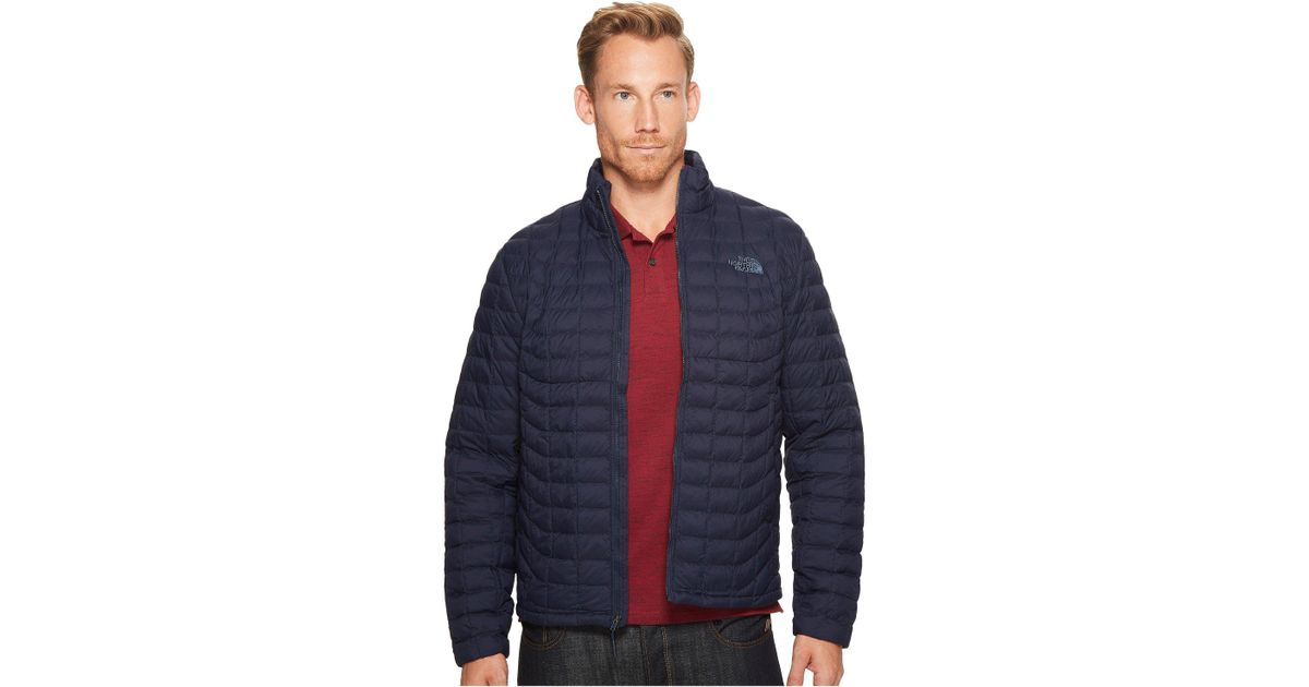 0eac9aede The North Face Blue Thermoball Jacket (primary Green Matte) Men's Coat for  men