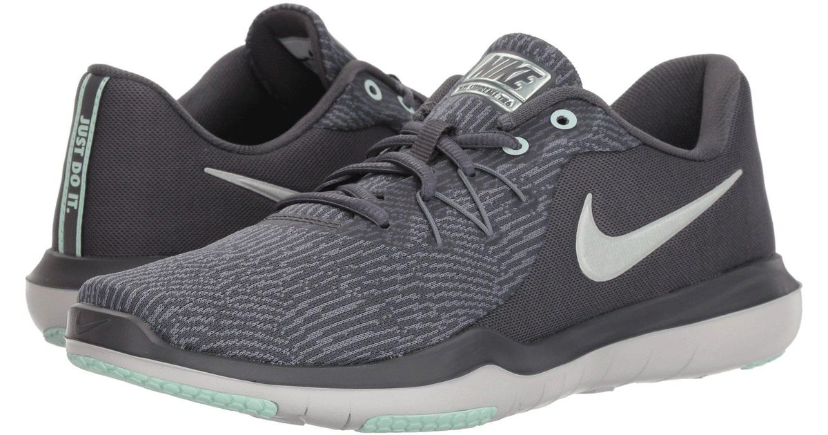 040019fe852 Lyst - Nike Flex Supreme Tr 6 Training (black white anthracite) Women s  Cross Training Shoes in Gray for Men