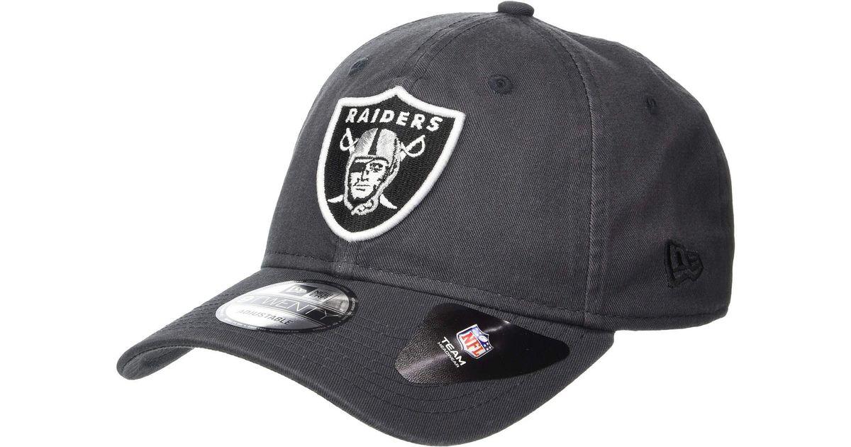 Lyst - KTZ Core Classic - Raiders (steel) Baseball Caps in Gray for Men fb5548f0901