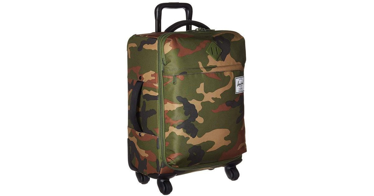 Lyst - Herschel Supply Co. Highland Carry-on (frog Camo) Carry On Luggage  in Green for Men 38477f39381e7