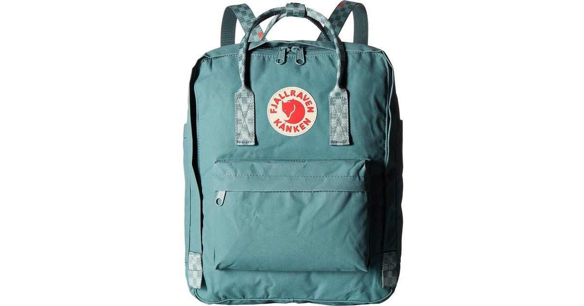 0d26f1c0975 Fjallraven Kanken (blue Ridge) Backpack Bags in Green for Men - Lyst