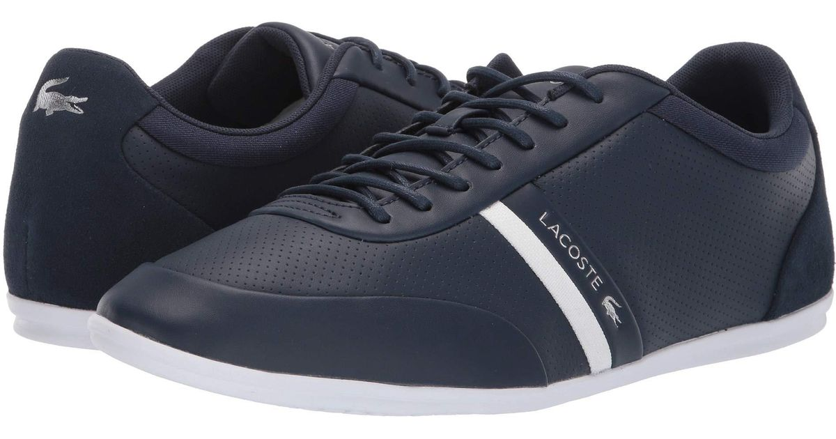 b32d1e881 Lyst - Lacoste Storda 119 2 U (navy off-white) Men s Shoes in Blue for Men