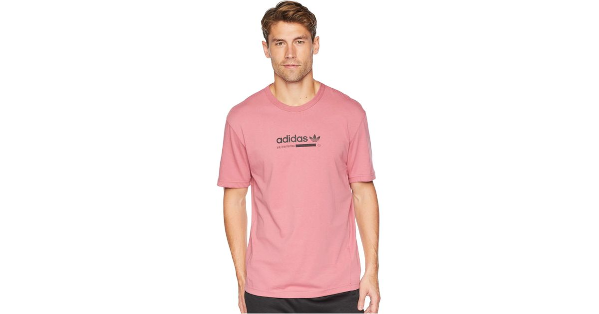 43047738308 adidas Originals Kaval Tee (trace Maroon) Men's T Shirt in Pink for Men -  Lyst