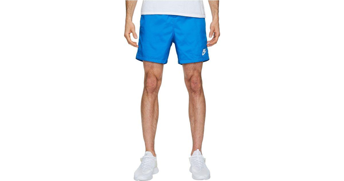 85e921ee8a Nike Woven Flow Short in Blue for Men - Lyst