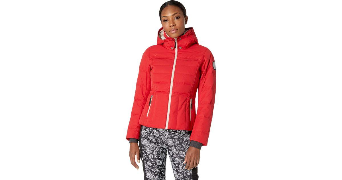 24017fa1b40 Lyst - Obermeyer Joule Down Jacket (dusk) Women s Coat in Red