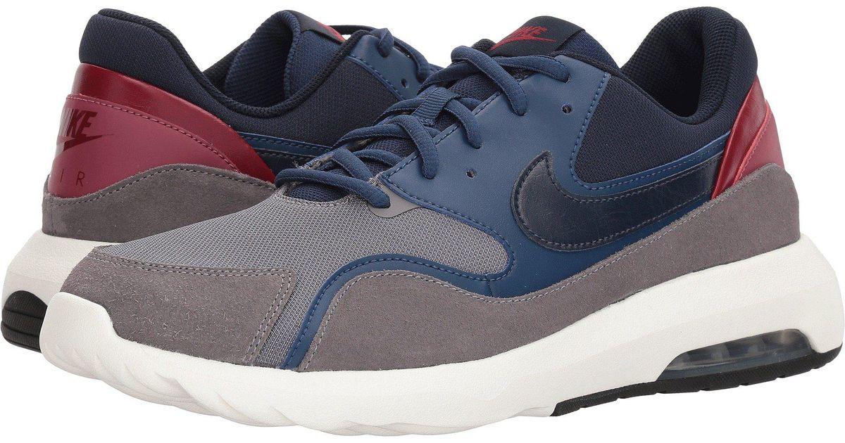 new style 47442 5e330 Nike Air Max Nostalgic (gunsmoke obsidian navy vintage Wine) Men s Running  Shoes in Blue for Men - Lyst