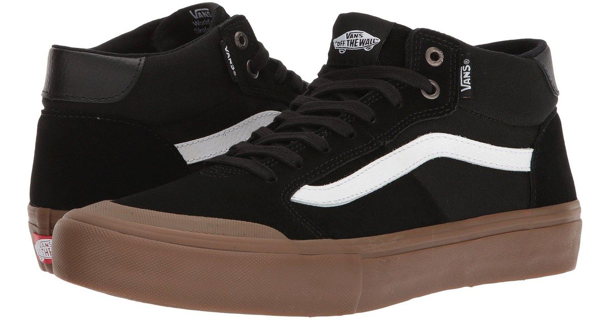 5216293908 Lyst - Vans Style 112 Mid Pro in Black for Men
