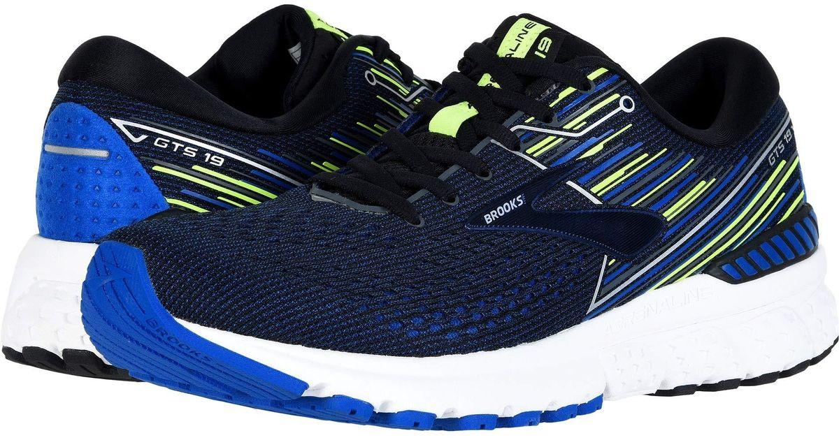 c54b414b9d5 Lyst - Brooks Adrenaline Gts 19 (white grey navy) Men s Running Shoes in  Blue for Men