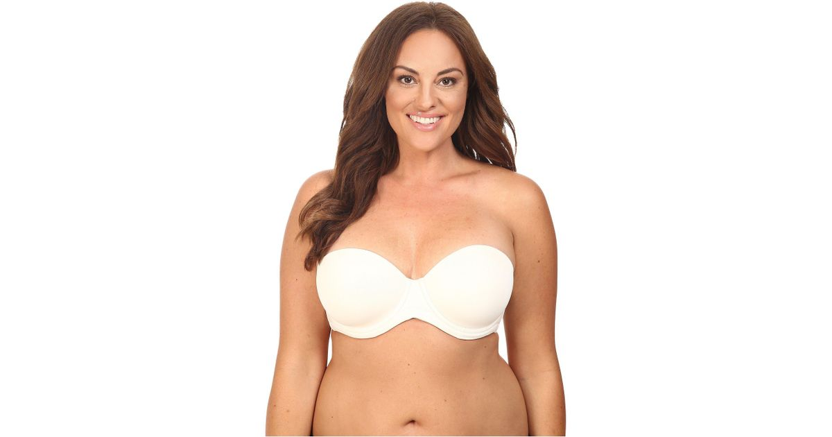 15f5bd66f1b Lyst - Wacoal Red Carpet Full-busted Strapless Bra 854119 in Blue