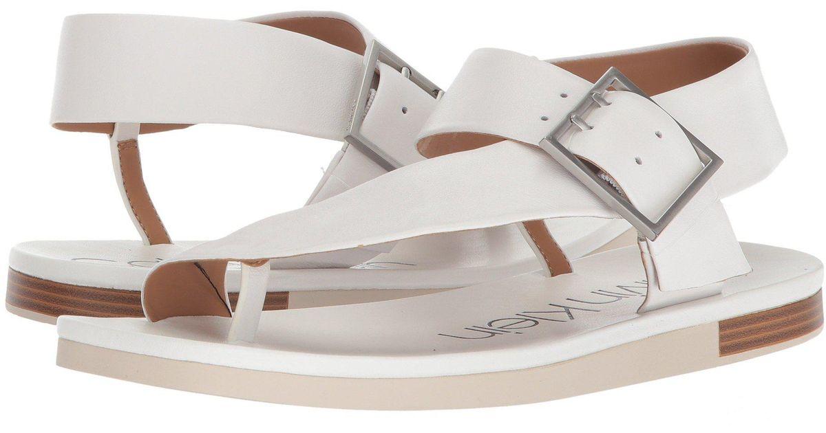 Calvin Klein Women's Rivita Sandal 1o3xe2