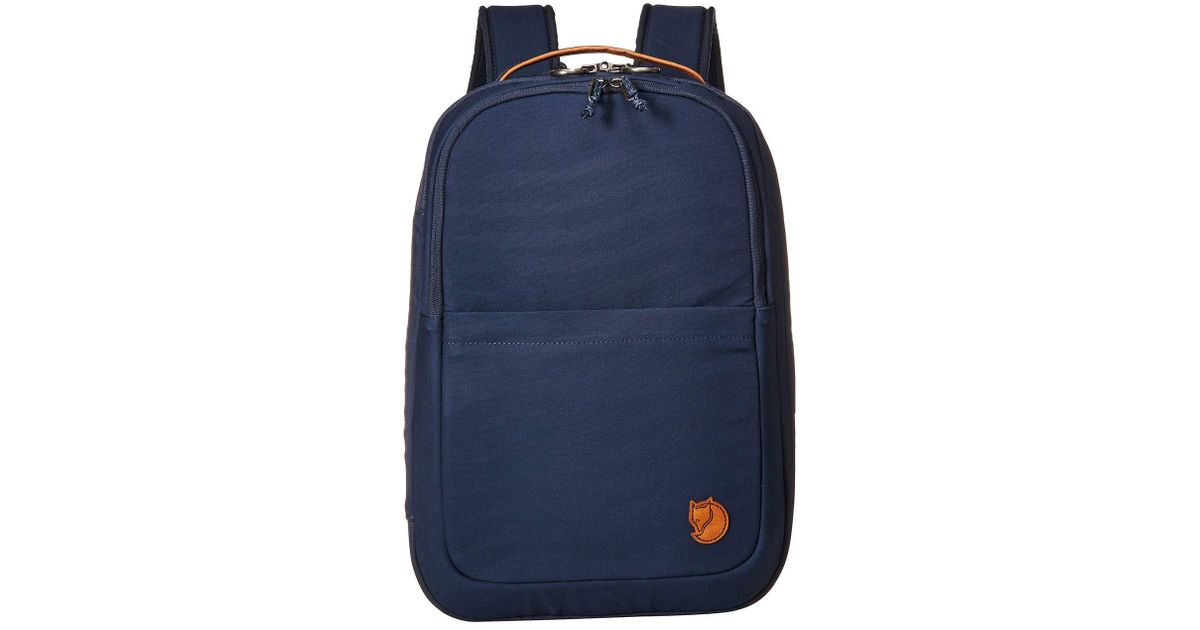 6aed354aef5c Lyst - Fjallraven Travel Pack Small (navy) Backpack Bags in Blue for Men