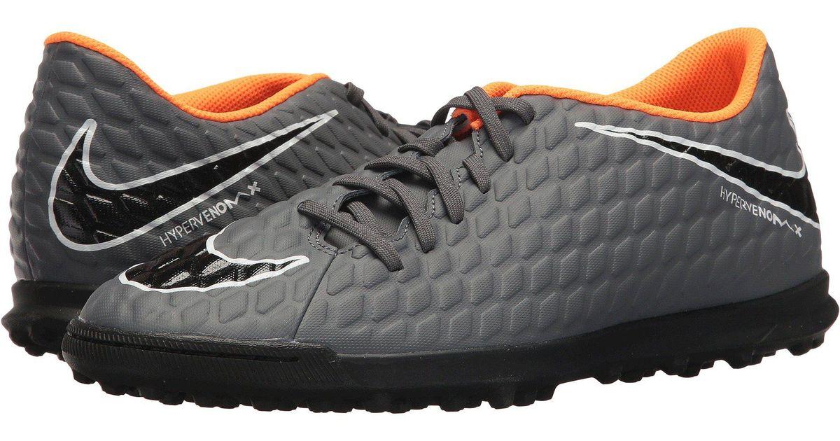 5615bdd9a Nike Hypervenom Phantomx 3 Club Tf in Gray for Men - Lyst