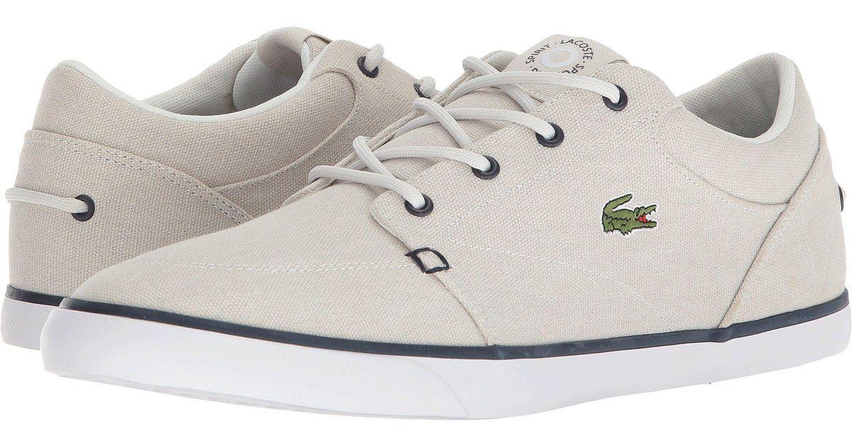 33ef83564 Lyst - Lacoste Bayliss 118 3 (navy light Blue) Men s Shoes in White for Men