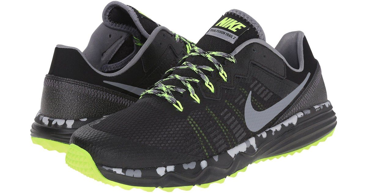 24bac5054855 Lyst - Nike Dual Fusion Trail 2 in Black for Men