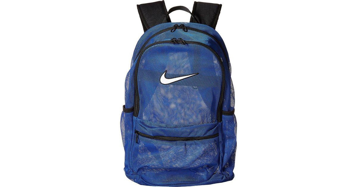 601b1b6f39 Lyst - Nike Brasilia Mesh Backpack in Black for Men