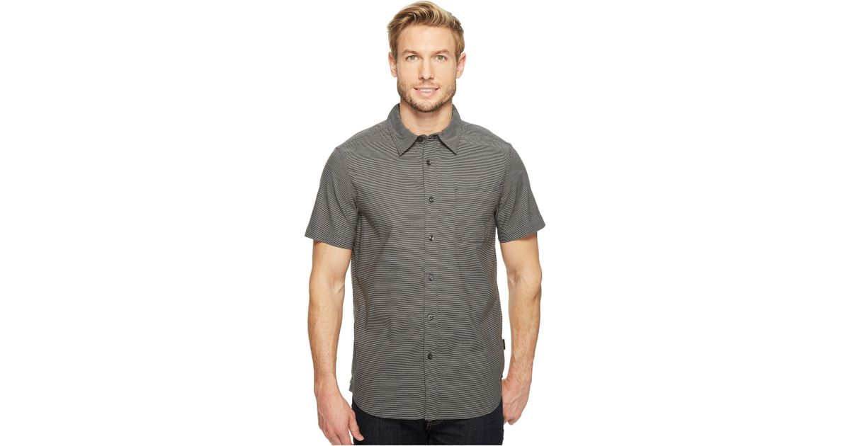 c3e6e94ff The North Face - Gray Short Sleeve On Sight Shirt for Men - Lyst
