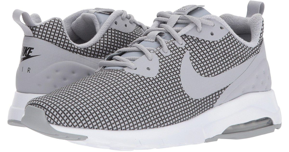 97910cb949d5 ... promo code for lyst nike s air max motion lw se low top sneakers in gray