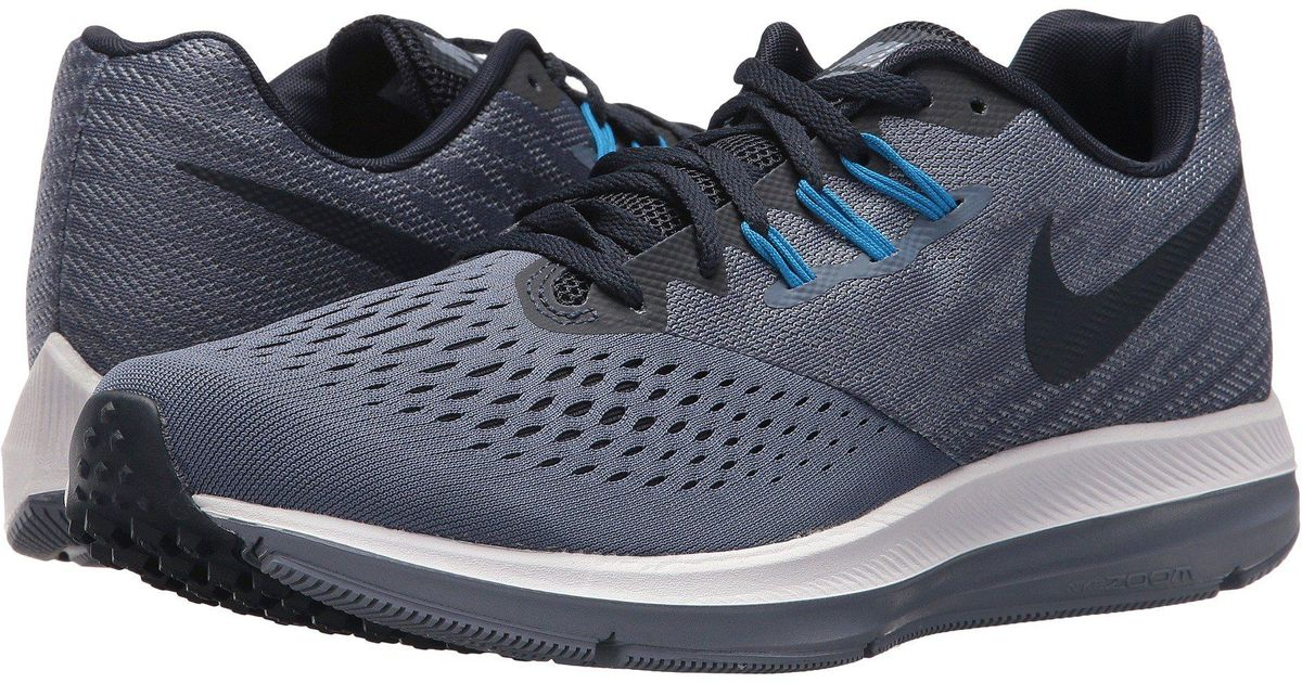 eaa6f9a06cf Lyst - Nike Zoom Winflo 4 Running Shoes in Blue for Men