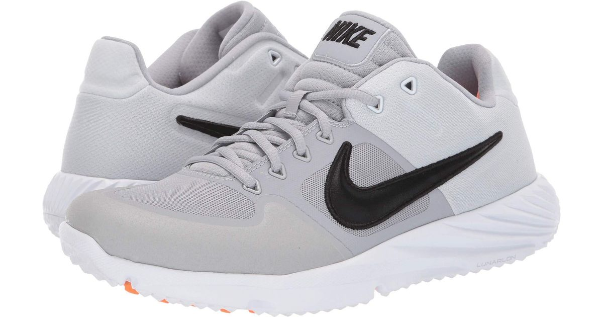 baa7ab37b1cd Lyst - Nike Alpha Huarache Elite 2 Turf (game Royal white gym Blue) Men s Cleated  Shoes in Gray for Men