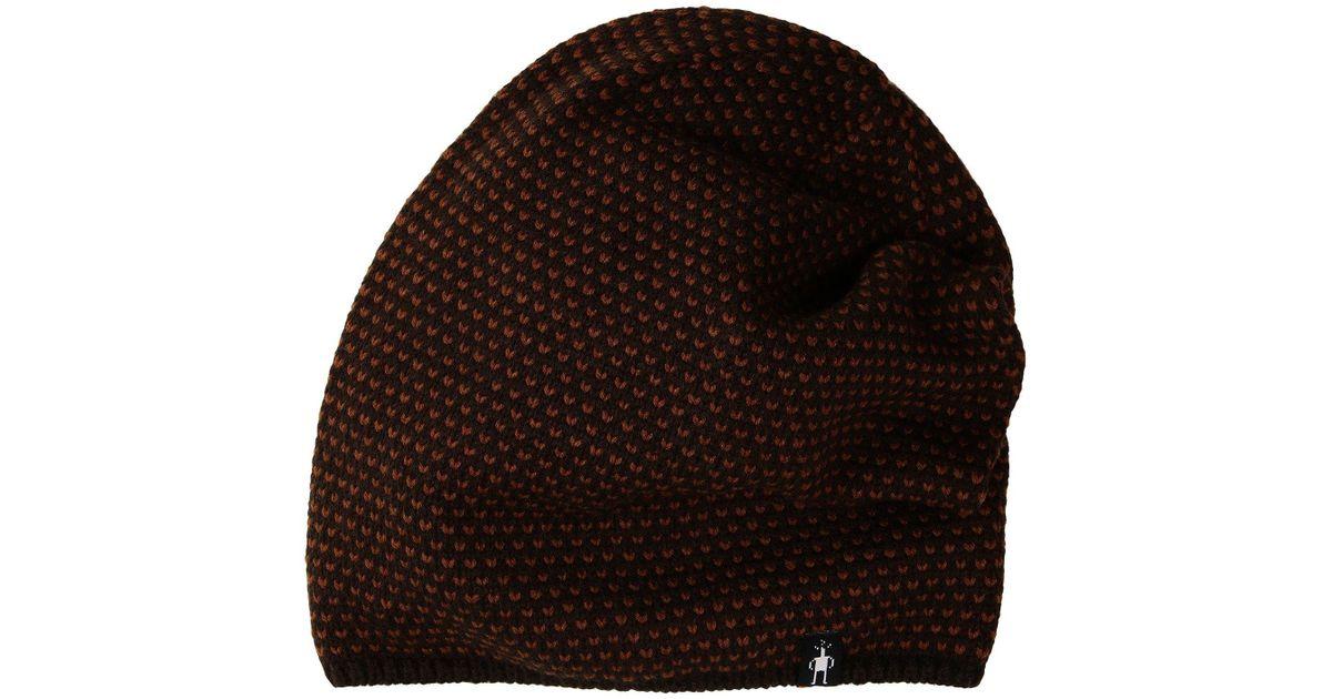 1bbedcc3d8f Lyst - Smartwool Diamond Cascade Hat in Brown for Men