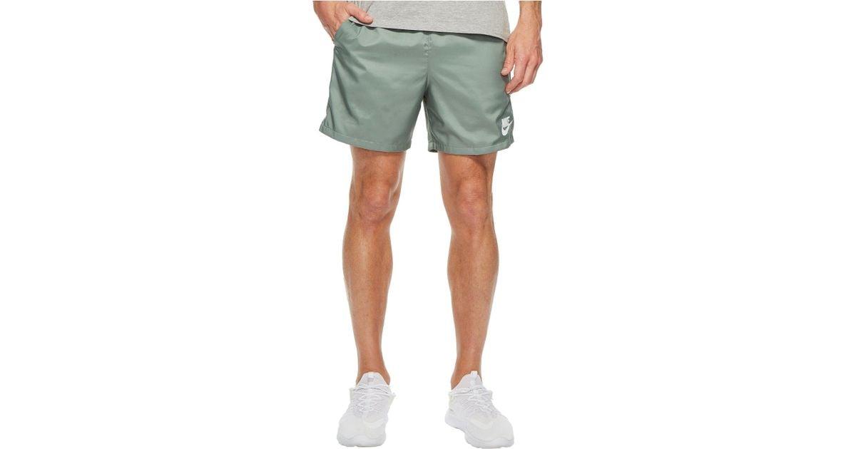 19f7651032f1e Lyst - Nike Woven Flow Short in Green for Men