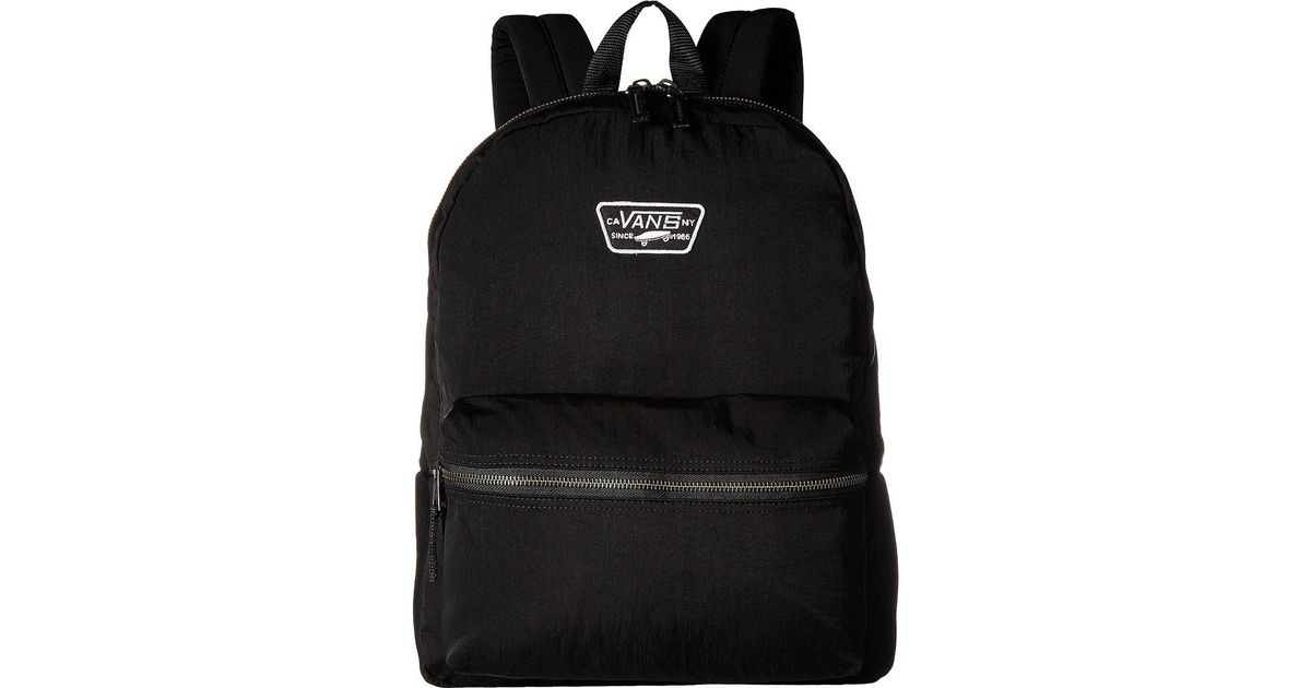 Lyst - Vans Expedition Backpack in Black