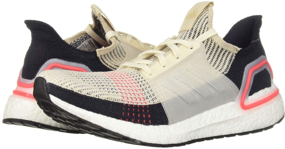 cf760a6dc3fc0 Lyst - adidas Originals Ultraboost 19 (footwear White footwear White grey  Two) Men s Shoes in White for Men