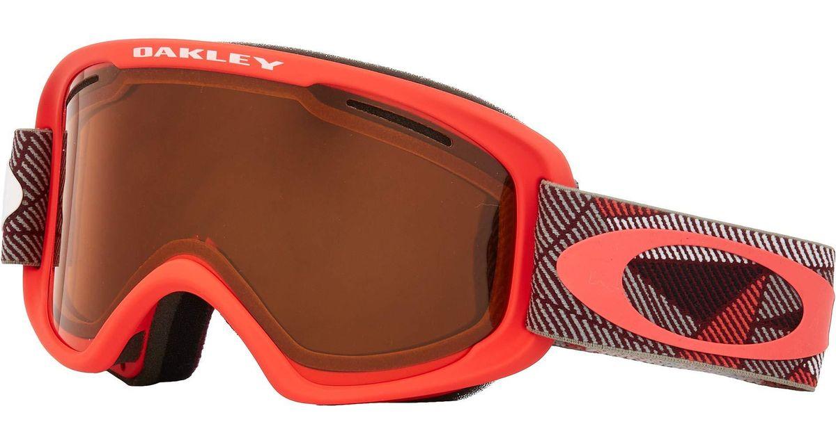 3d49bc65ccb6 Lyst - Oakley O Frame 2.0 Xm (prizmatic Coral Iron W  Persimmon dark Grey)  Goggles for Men