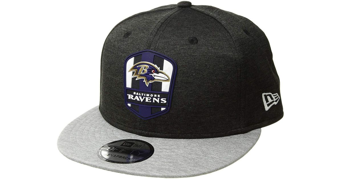 254a8830ebc Lyst - Ktz 9fifty Official Sideline Away Snapback - Baltimore Ravens  (grey ravens Purple) Caps in Gray for Men