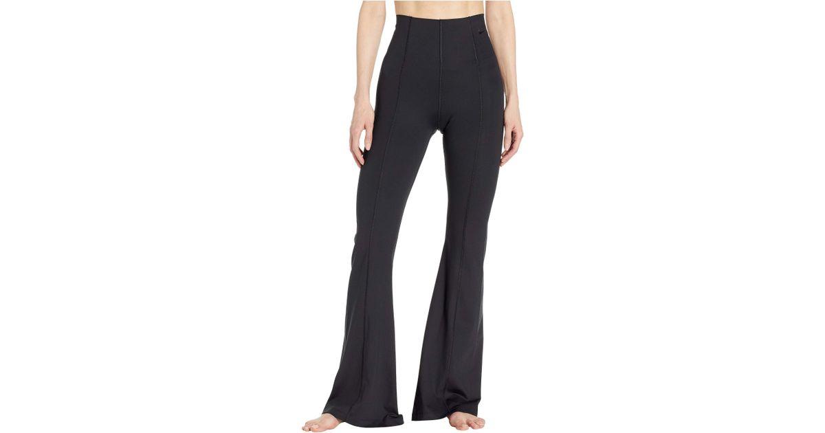 834dbb6404a797 Nike Power Studio Lux Flare Tights (black/black) Women's Casual Pants in  Black - Lyst