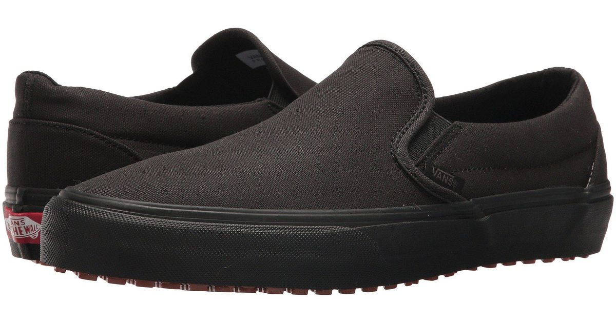 9457f6c4f5cb7e Lyst - Vans Classic Slip-on Uc X Made For Makers Collection (black black)  Skate Shoes in Black for Men