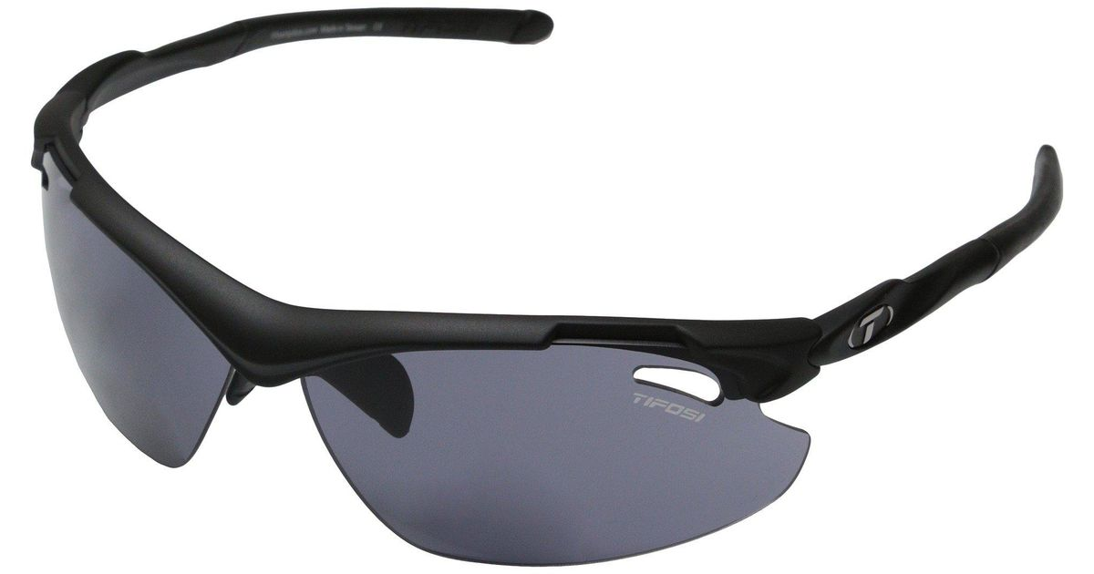 a376c373f7c Lyst - Tifosi Optics Tyranttm 2.0 Reader (matte Black smoke Reader +1.5)  Athletic Performance Sport Sunglasses in Black