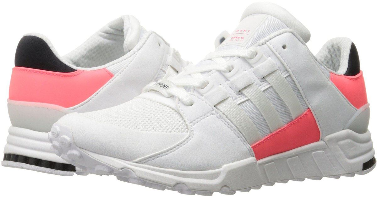 best cheap 528e4 b93f4 Lyst - adidas Originals Eqt Support Rf Fashion Sneakers in White for Men -  Save 51%