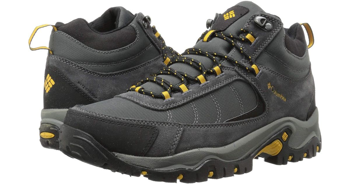 570a9a6e58d6b9 Columbia Granite Ridge Mid Waterproof in Black for Men - Lyst