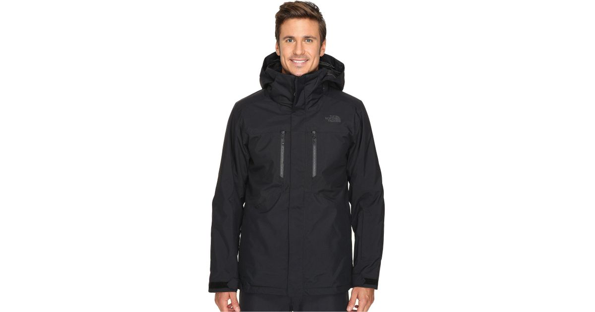 00a240b3d8 Lyst - The North Face Clement Triclimate Jacket (tnf Black) Men s Coat for  Men
