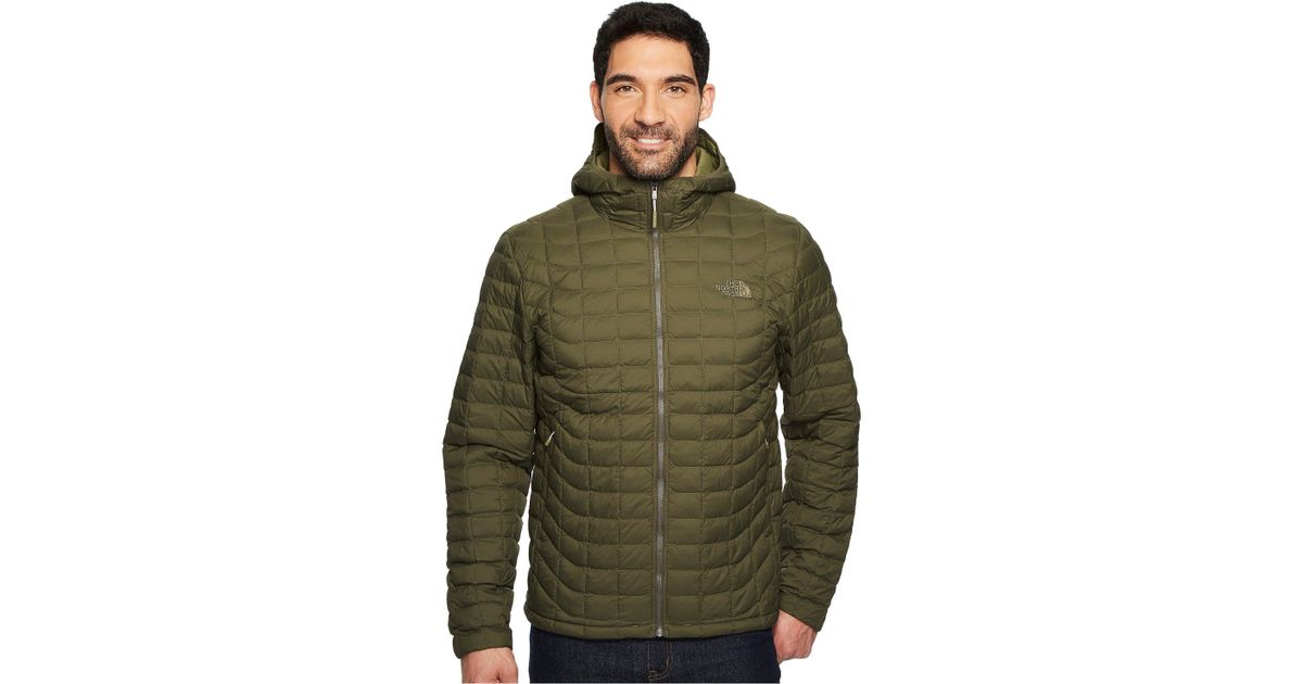 cfbaa492105d Lyst - The North Face Thermoball Hoodie in Green for Men