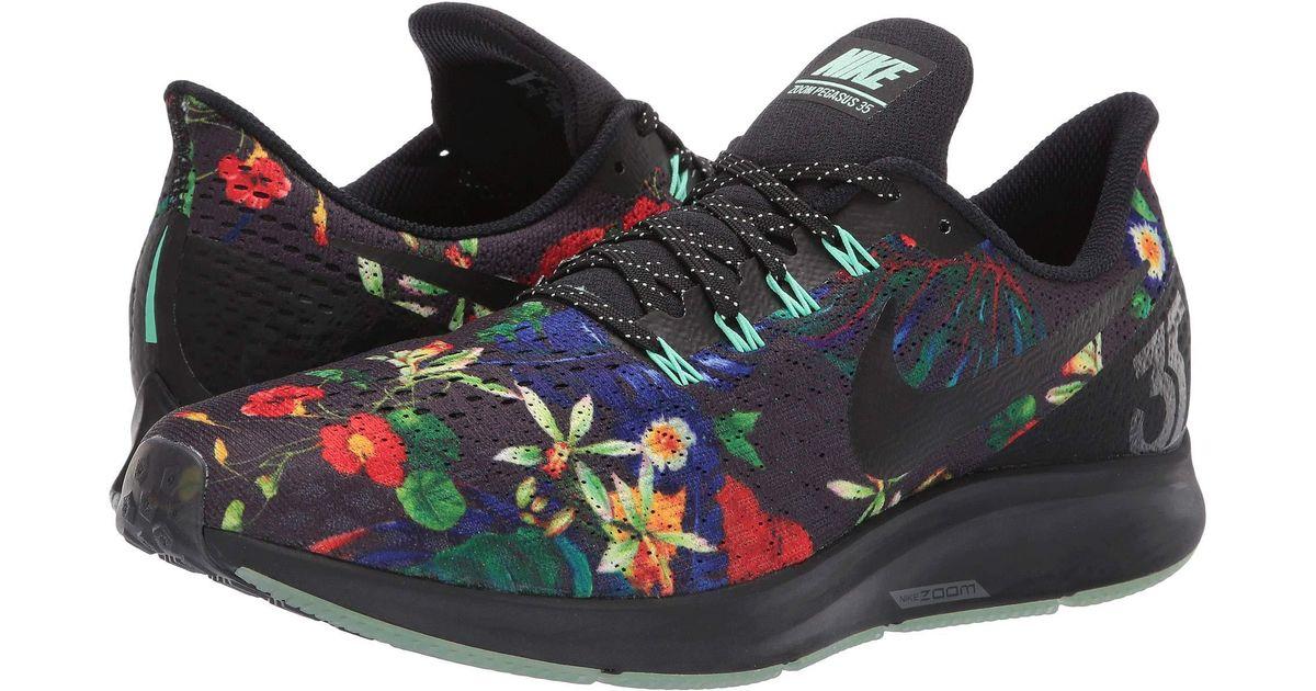 040c77dbd6ae1 Lyst - Nike Air Zoom Pegasus 35 Gpx Rs (black black green Glow) Men s  Running Shoes in Black for Men