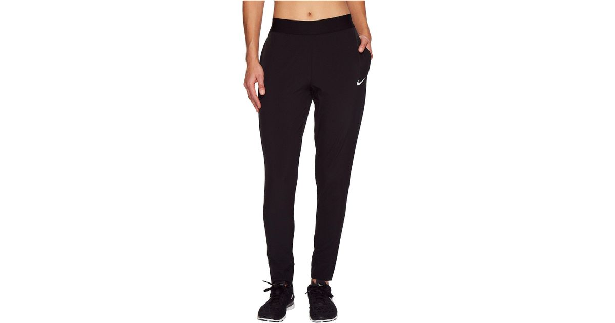 50350614 Nike Bliss Victory Pant (black/white) Women's Workout in Black - Lyst