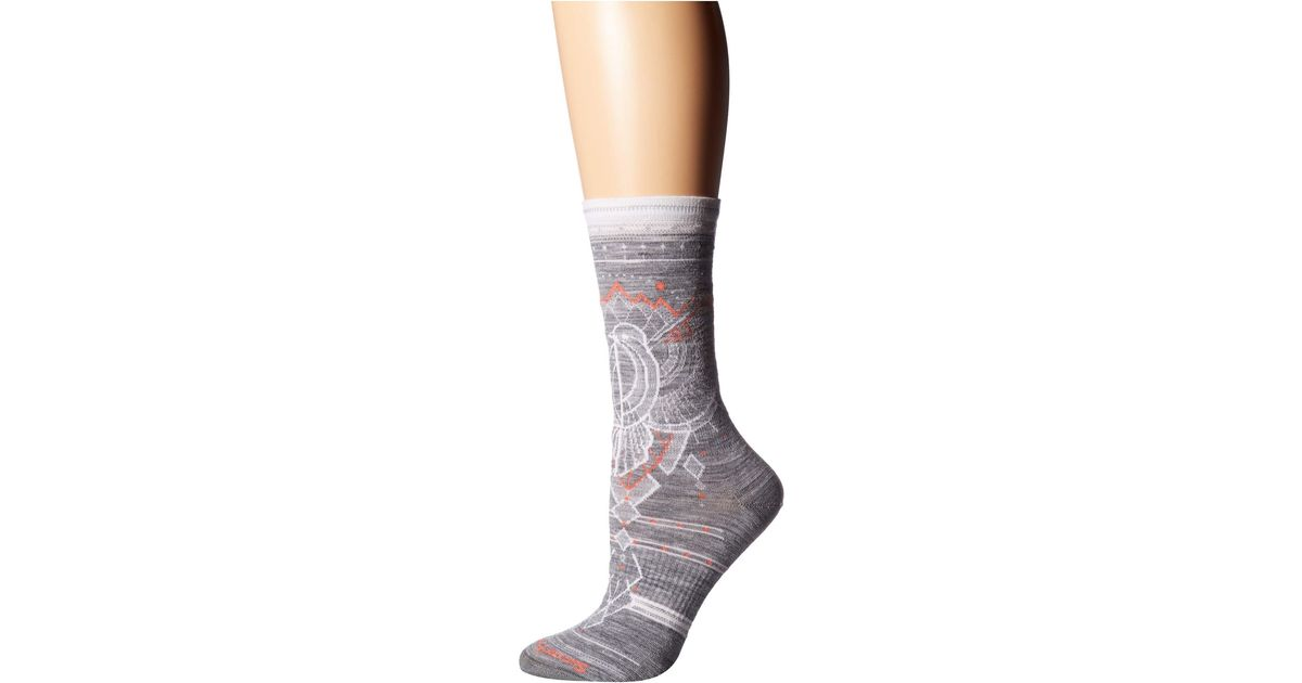 Smartwool Womens Mountain Magpie Crew Socks
