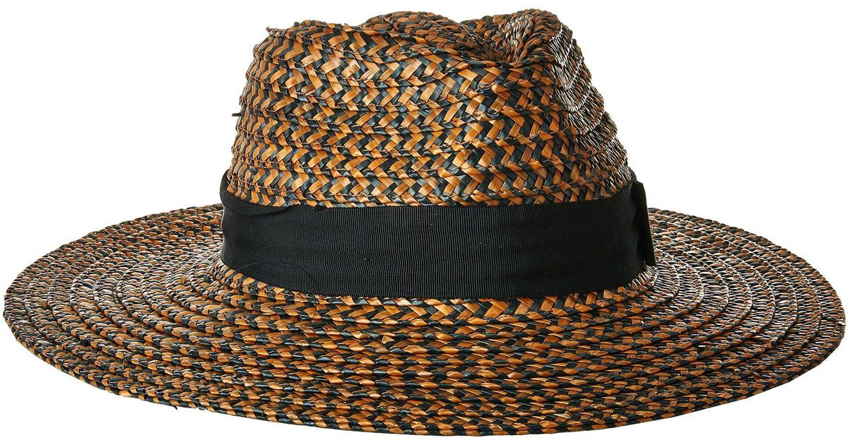 3606cd50144 Lyst - Brixton Joanna Hat (washed Black brown) Caps in Brown