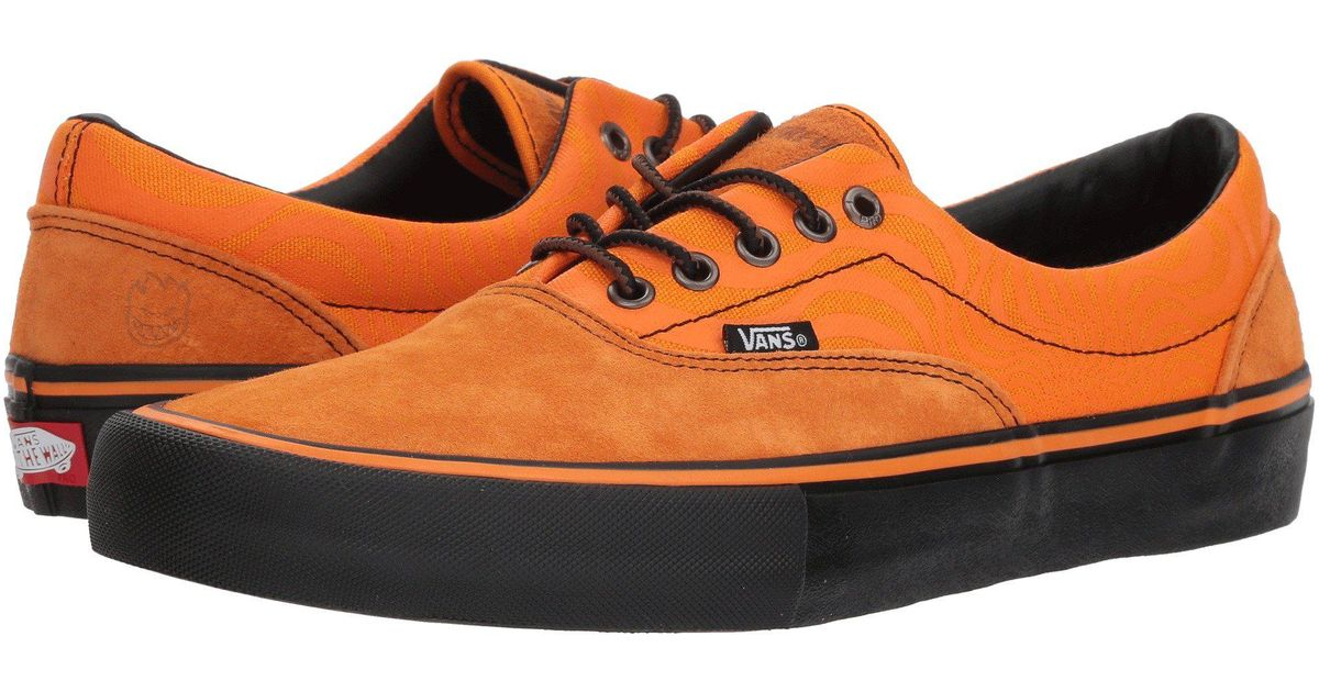 2bf56737e7 Lyst - Vans X Spitfire Era Pro Men s Shoes (trainers) In Orange in Orange  for Men