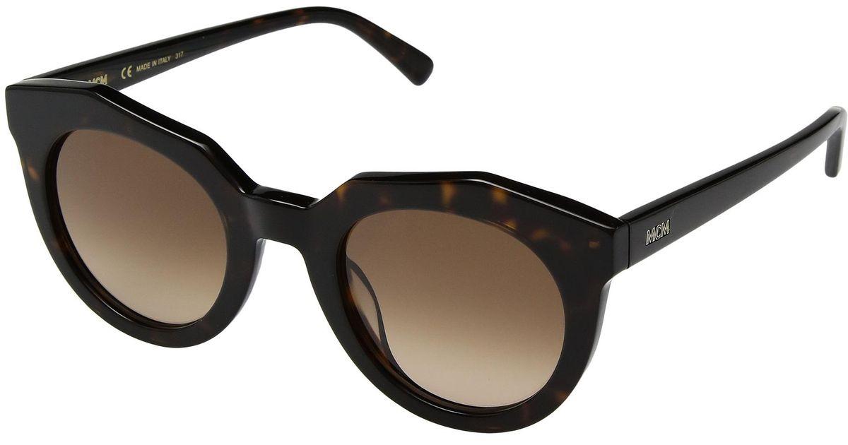 b0b38338da3e Lyst - MCM 653sl (havana brown Gradient) Fashion Sunglasses in Brown - Save  20%