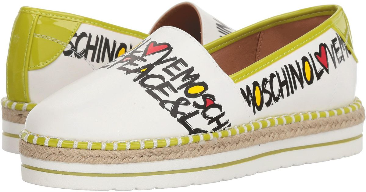 LOVE MoschinoPeace & Love Espadrille